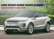 LAND ROVER RANGE ROVER EVOQUE 2.0 D165 Mhev S Awd Auto